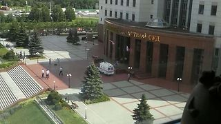 Shootout Inside Moscow Regional Court Leaves Three Dead - Video