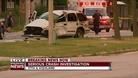 Sources: One person killed in Thursday morning crash west of downtown Milwaukee