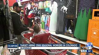 Target hiring 2,500 seasonal workers in Colorado - Video
