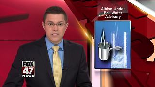 Boil Water Advisory in effect for Albion - Video