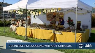 Businesses struggling without stimulus