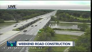 Weekend road construction - Video