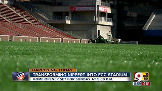 FC Cincinnati's first MLS home game approaches