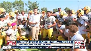 Male Athlete of the Week: Leauauna Laulu Jr. - Video