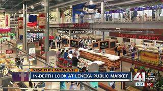 Lenexa Public Market opens in one month - Video
