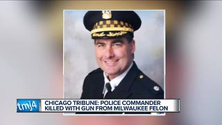 Gun used to kill Chicago police commander was tracked to Milwaukee - Video