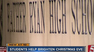 High School Opens Its Doors To Serve Homeless - Video