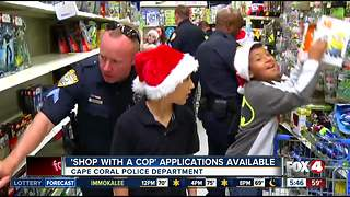 Cape Coral Police 'Shop with a Cop' accepting applications