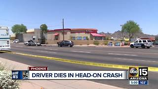 One killed in north Phoenix crash - Video
