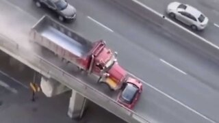 Toronto Dump Truck Driver Gets Charged For Whatever TF Is Going On Here (VIDEO)