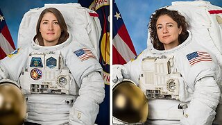 First All-Female Spacewalk Scheduled For Later This Week