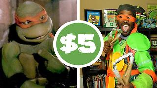 Teenage Mutant Ninja Turtles $5 cosplay challenge - Video