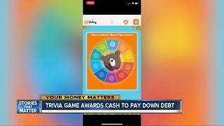 Trivia game awards cash to help pay down debt - Video