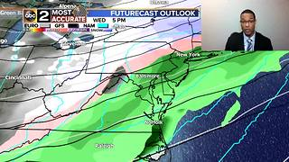 Maryland's 7 Day Forecast: Ice, Snow and a Warm up - Video