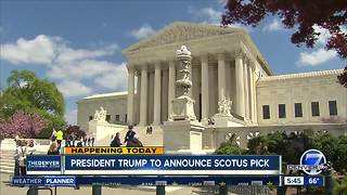 President Trump to announce SCOTUS pick - Video