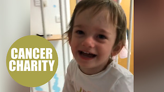 Adorable little girl needs £300,000 to help fund her cancer treatment - Video