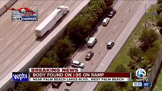 Body found near I-95 on ramp - Video