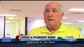 Hospital gym helps heart, lung patients rehab - Video
