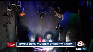 Haunted house inspections completed by the busy Halloween season - Video