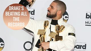 Drake beats Beatles' no.1 record - Video