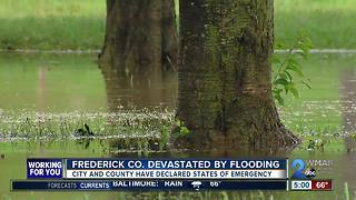 Severe weather sparks State of Emergency for Frederick County - Video