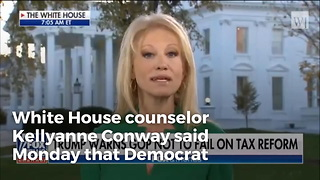 Kellyanne Conway: A Vote For Doug Jones Is A Vote Against Tax Cuts - Video