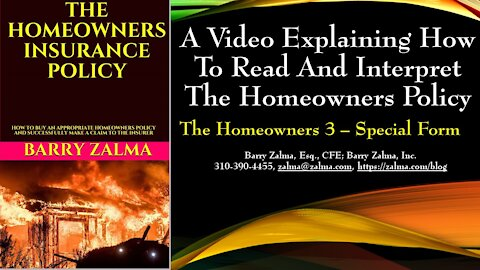 A Video Explaining how to Read and Interpret the Homeowners Policy
