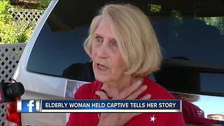 Police: 70-year-old woman tied up, held hostage for 8 hours - Video