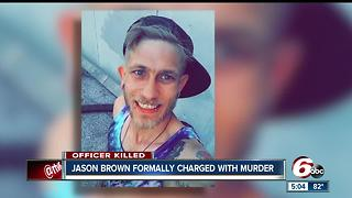 Jason Brown formally charged with murder of Southport police lieutenant
