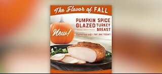 New pumpkin spice glaze for your Thanksgiving Turkey