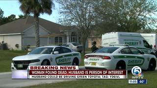 Indian River County man sought in wife's death - Video
