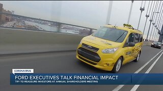 Ford rolls out strong message for America while outlining cost-cutting for shareholders