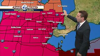 Metro Detroit Forecast: Excessive Heat Warning for southeast Michigan