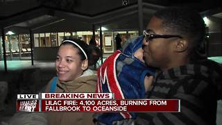 Family shares fire evacuation experience - Video