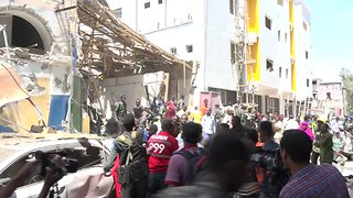 Powerful car bomb explodes at shopping mall in Somalia