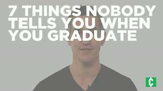 7 things nobody tells you after you graduate - Video
