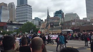 Minneapolis Pride Parade Stopped by Black Lives Matter Protesters - Video