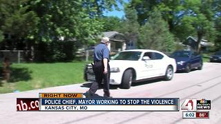 KCPD going door-to-door to talk crime prevention - Video
