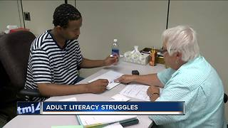 Milwuakee efforts to combat adult literacy - Video
