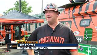 Fans celebrate the return of Bengals football