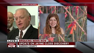 Douglas County Sheriff discusses moment Jayme Closs was found