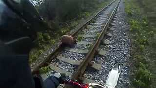 Viral Video UK: Biker finds abandoned dog tied up in sack