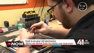 What to do with your old electronic devices - Video