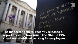 Obama's EPA Wasted Hundreds of Thousands - Video