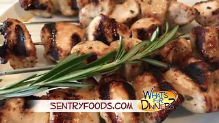 What's for Dinner? - Rosemary Ranch Chicken Kabobs - Video