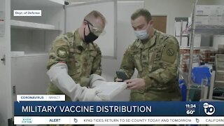 2 local military hospitals receiving vaccine allotment