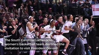 Ncaa National Champions South Carolina Announce Decision On White House Invite - Video