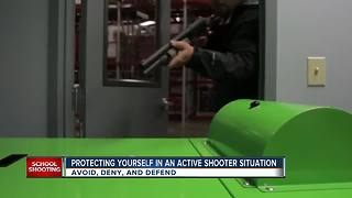 Protecting yourself in an active shooter situation