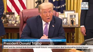 Israel and the United Arab Emirates reach historic normalization deal brokered by United States