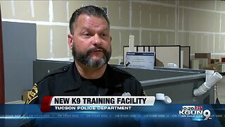 Tucson Police Department unveils new K9 training facility